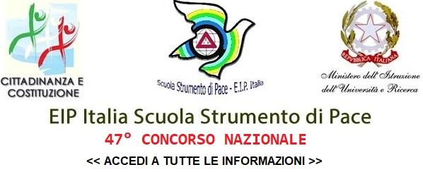 EIP Italia Scuola Strumento di Pace - 47° Concorso Nazionale